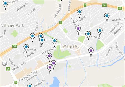 waipahu map parkglen at waikele real estate condos for sale