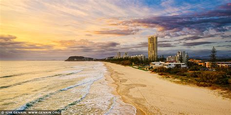 wallpaper warehouse gold coast north burleigh at sunrise from miami lookout image fine
