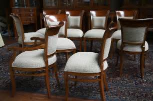 Dining Room Chair Upholstery Mahogany Dining Room Chairs With Upholstered Back Ebay