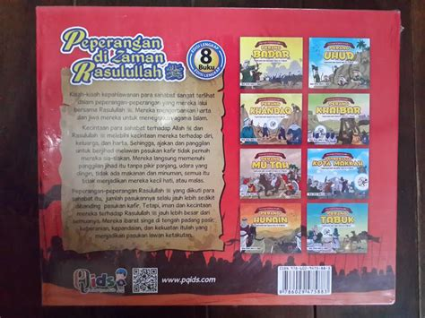 Buku Anak Peperangan Di Zaman Rasulullah Buku 1 buku anak peperangan di zaman rasulullah toko muslim title