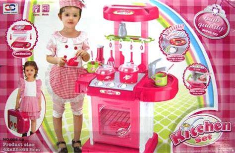 Mainan Masak Masakan Kitchen Dishware Set jual terlaris mainan anak kitchen set koper masak masakan