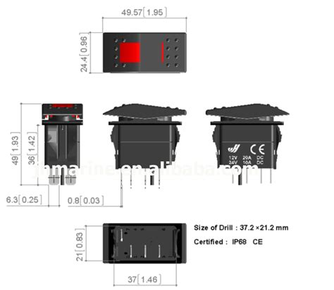 led 4 pin rocker switch wiring diagram wiring diagram