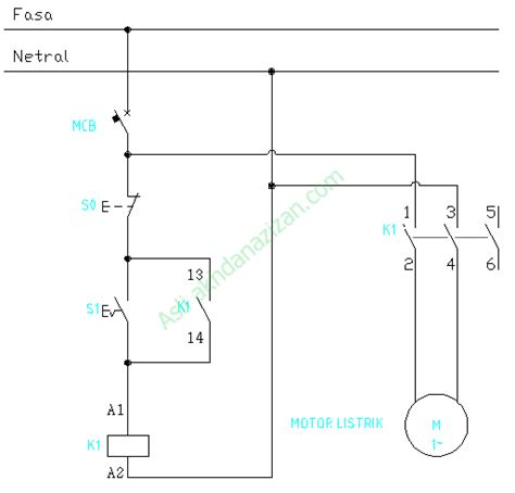 wiring diagram panel ats sederhana wiring diagram