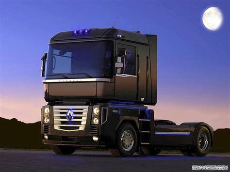 pin renault magnum truck on