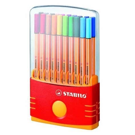 Stabilo 4 All Inner Box Black stabilo point 88 fineliner pen gift set 20 per pack from ocado