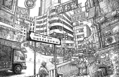 Kong Coloring Page ausmalen erwachsene china hongkong 11