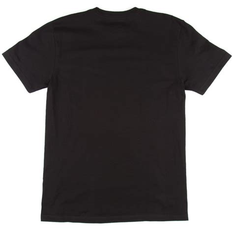 Tshirt Black dc rebuilt sleeve t shirt black