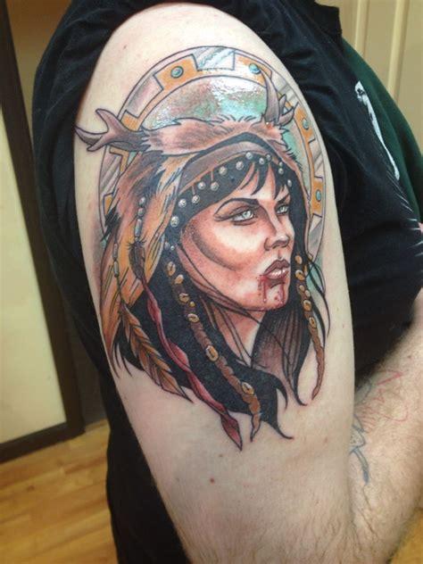 xena tattoo xena warrior princess by evan jones artsyshartsy