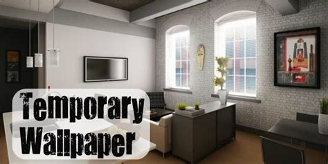 temporary wallpaper for apartments temporary decorating solutions for renters part 2
