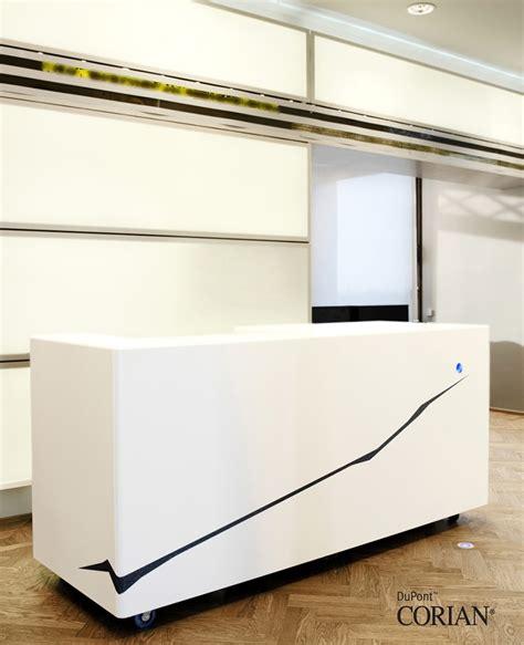 Reception Desks Offices Dfmk Solid Surface Milton Keynes Corian Reception Desk