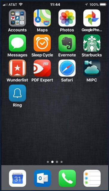 iphone 8 plus show us your new home screen after setup iphone ipod forums at imore