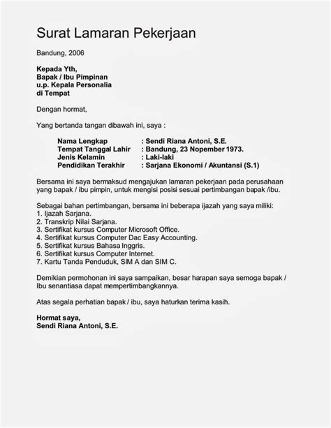 contoh application letter bahasa inggris fresh graduate 100 original papers contoh application letter dalam bahasa