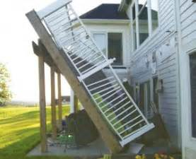 rj home inspection sitepro home inspections deck safety and proper deck