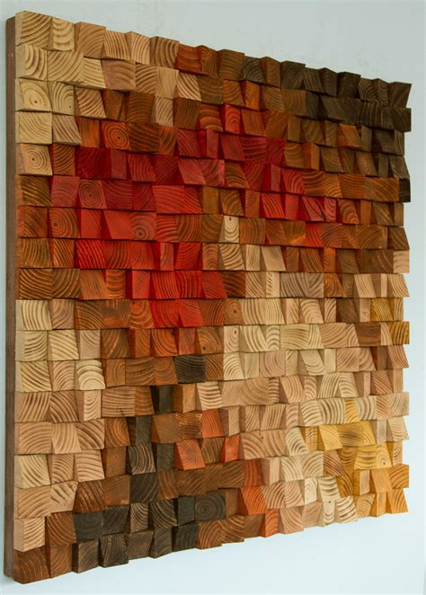 design art wood large rustic wood wall art wood wall sculpture abstract