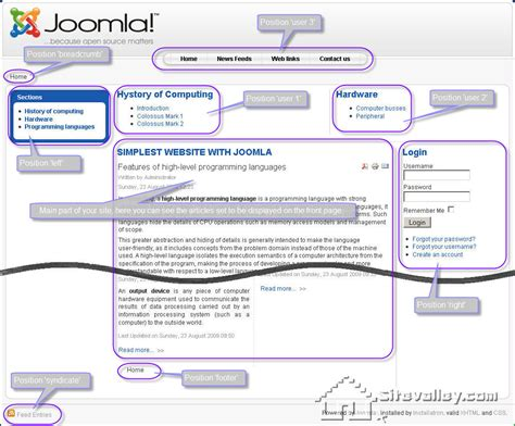 layout design joomla 301 moved permanently