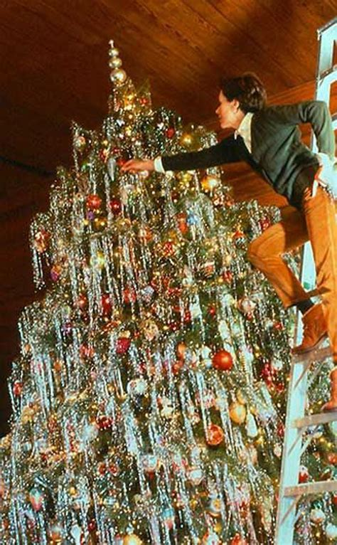 how much tinsel for a 12 tree preparing for 37 lovely vintage photos show