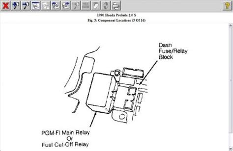 Relay Fuelpump Cut Relay Fuelpump Honda Accord Prestige 1998 honda accord fuel cutoff switch