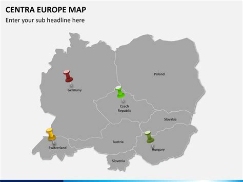 central europe map central europe map powerpoint sketchbubble