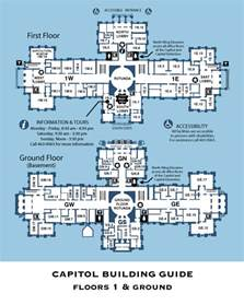 capitol building map capitol building map