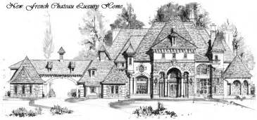 Gatsby Mansion Floor Plan by Houston Luxury French Chateau Manor House Floor Plans