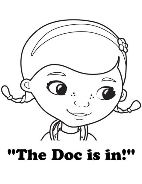 doc mcstuffins chilly coloring pages doc mcstuffins netart character cookies pinterest