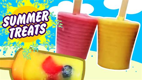 diy healthy popsicles summer treats healthy popsicles easy diy