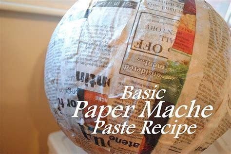 paper mache paste recipe paper scissors rock we all