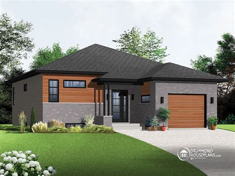 one story house contemporary house plans one story escortsea