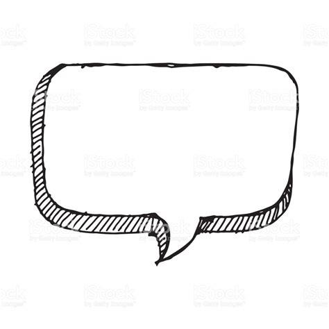 free doodle speech vector doodle speech icon draw illustration design