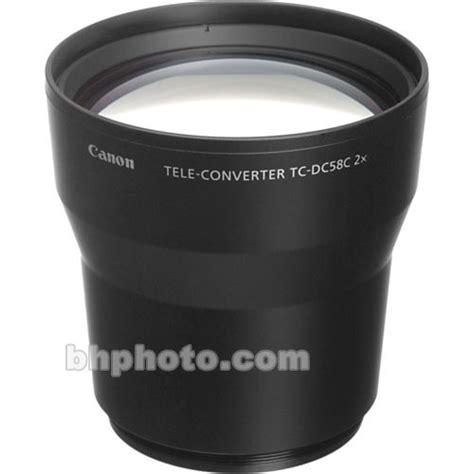 Tele Converter 2 2x 58mm canon tc dc58c 2x teleconverter lens 1594b001 b h photo