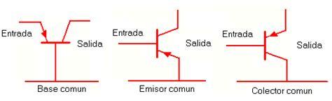 transistor bjt como lificador emisor comun transistores web