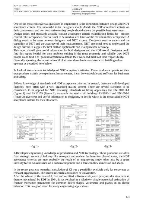 (PDF) NDT ACCEPTANCE CRITERIA AND DESIGN PROCEDURES
