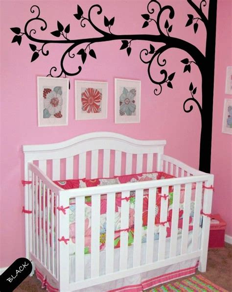 Tree Wall Decal Nature Removable Vinyl Wall Stickers Baby Removable Wall Decals For Baby Nursery