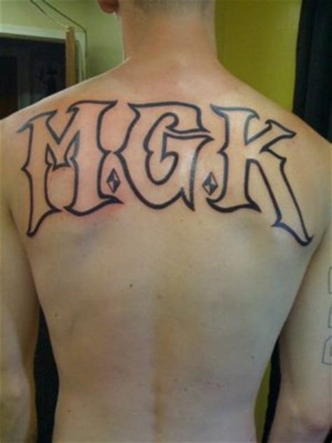 mgk tattoos font forum dafont