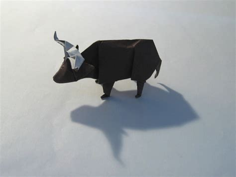 Origami Ox - images
