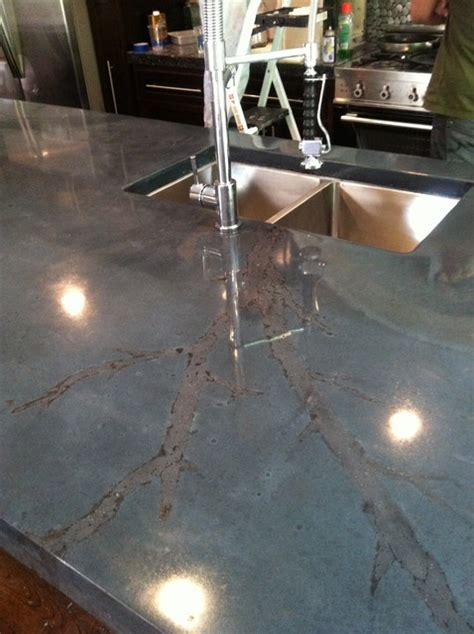 Undermount Sink Concrete Countertop by Concrete Island With Integral Sink And Undermount Sink