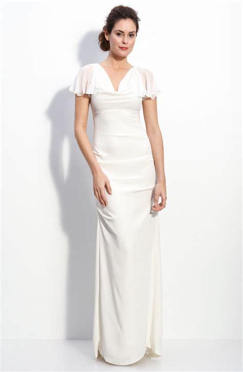 Wedding Dresses Nordstrom by Flutter Sleeve Wedding Dress Nordstrom Onewed