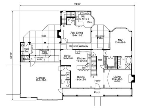 house plans with separate apartment sandwich generation housing ideas house plans and more