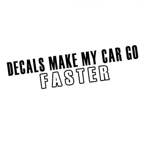 jdm car stickers jdm decals my car go faster vinyl sticker car decal