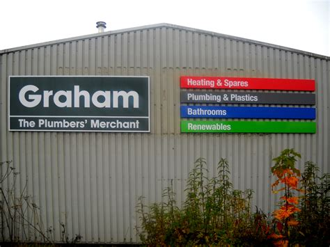 Grahams Plumbing Merchants by Border Signs Graphics General Signage Picture Gallery