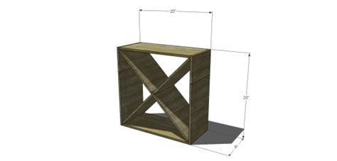X Wine Rack Plans by Free Diy Furniture Plans How To Build A Cellar Wine Rack And X Cube Shelves The Design