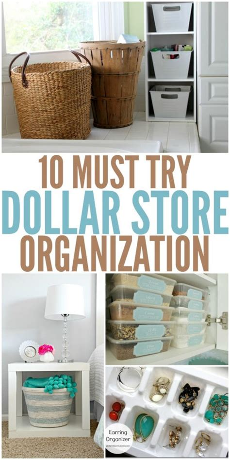 dollar store organization 10 must try dollar store organization ideas nifymag com