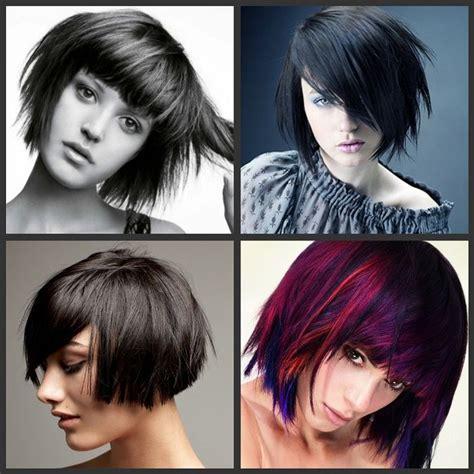 edgy bob haircuts 2015 coafuri femei par mediu 2015 coafuri pinterest round