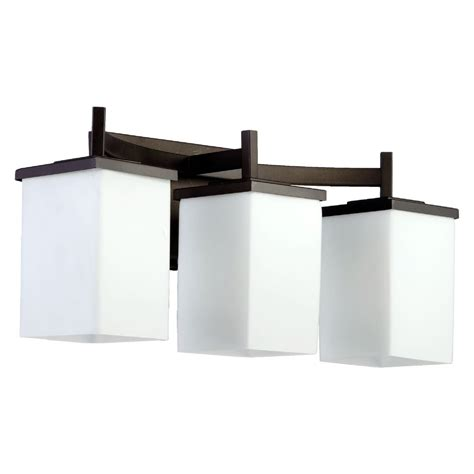 Quorum Bathroom Lighting Quorum Lighting Delta Bronze Bathroom Light 5084 3 86 Destination Lighting