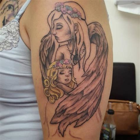 mom angel tattoo designs 40 extraordinary designs dzinemag