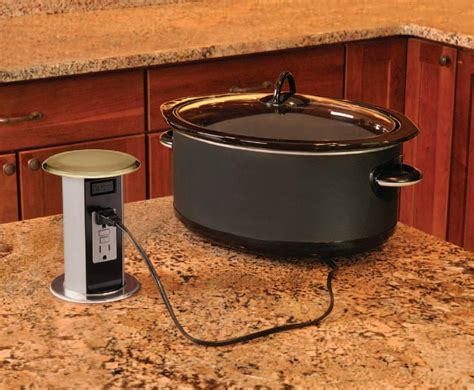 kitchen island electrical outlet pop up electrical outlets for kitchen islands quotes