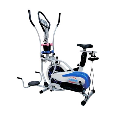 Orbitrack Transparan 5 In 1 Bergaransi jual alat fitness orbitrek 5 in 1 total fitness sepeda
