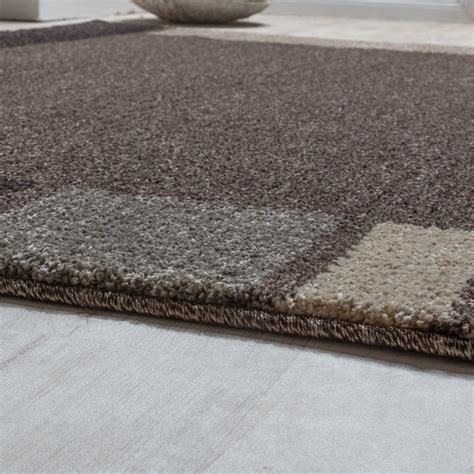 heavy rugs heavy woven rug modern carpet with border design in brown beige modern rugs