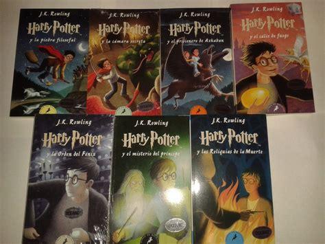 libro harry potter official 2018 harry potter libros 2 a 7 portada suave j k rowling dhl 1 425 00 en mercado libre