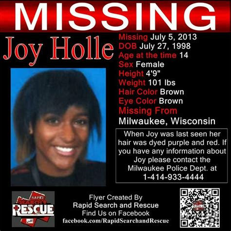 17 best images about wi missing persons 2010s on pinterest
